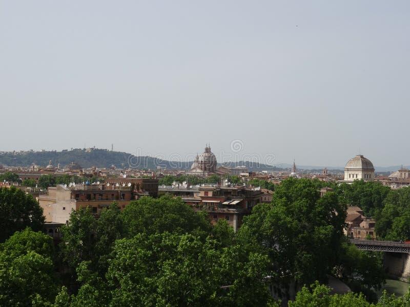 Римская панорама стоковая фотография rf