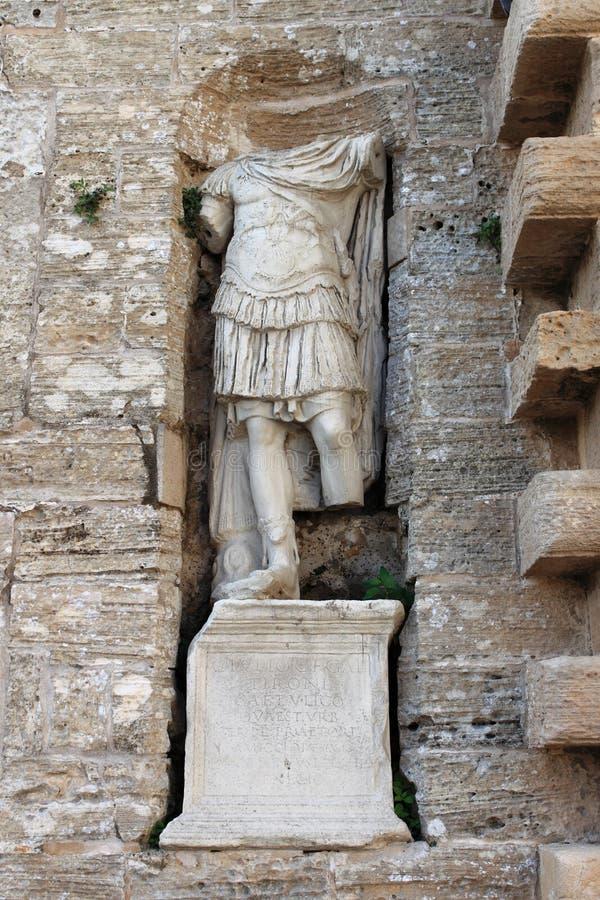 Римская статуя в Ibiza стоковая фотография