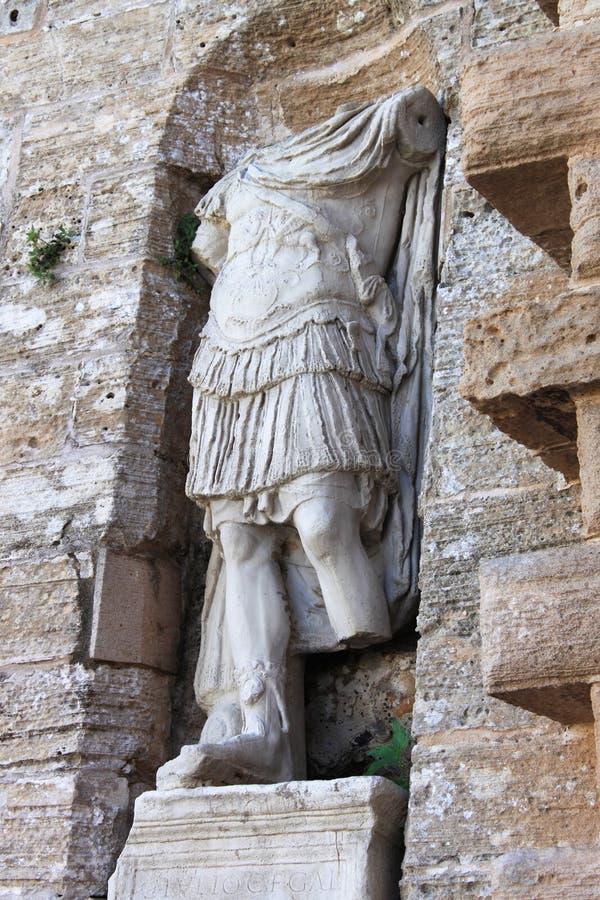 Римская статуя в Ibiza стоковое изображение rf