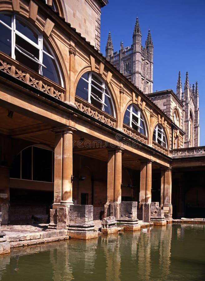 Римские ванны, ванна, Англия. стоковые фотографии rf