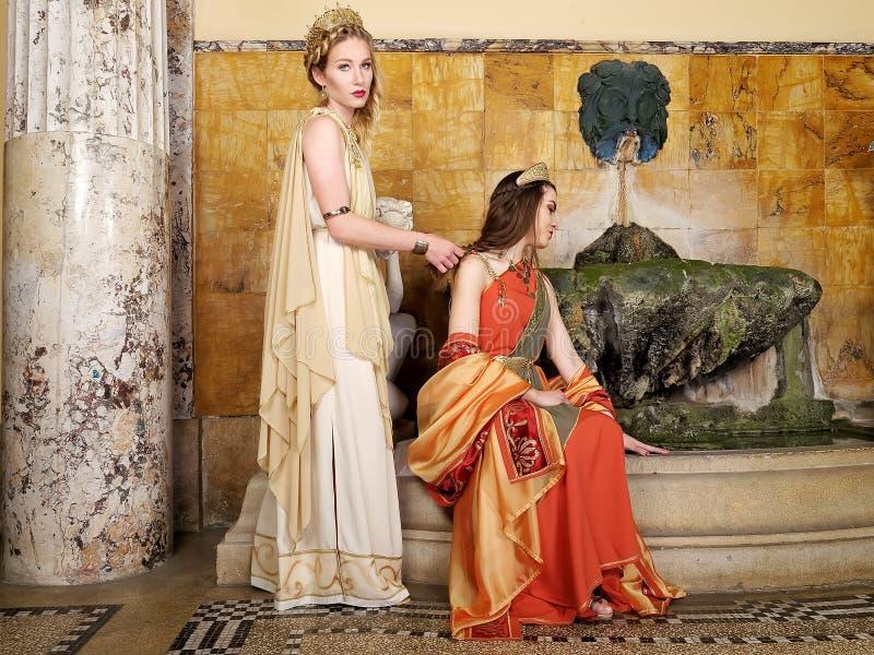 римские женщины стоковое изображение rf