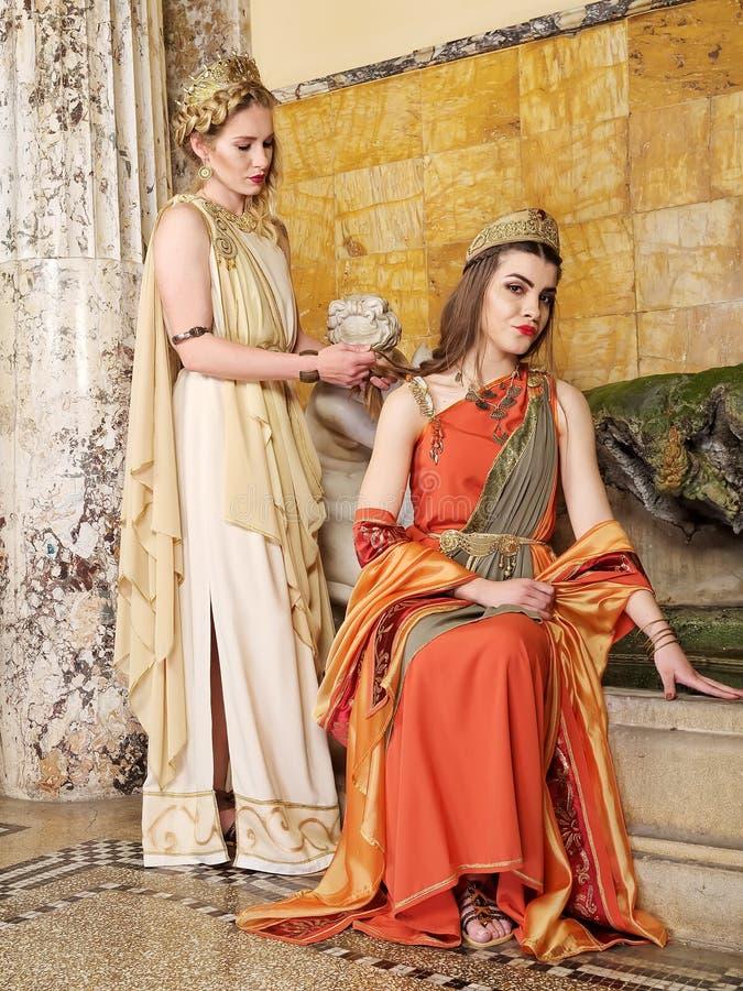 римские женщины стоковое фото
