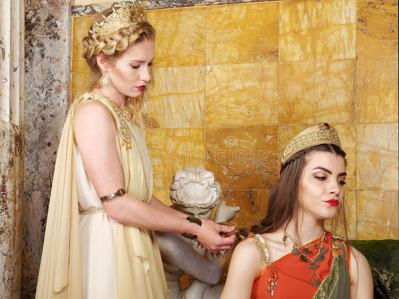 римские женщины стоковое фото rf