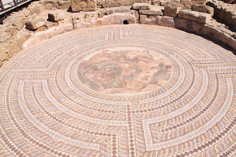 Римские памятники Kourion, Кипр стоковые фотографии rf