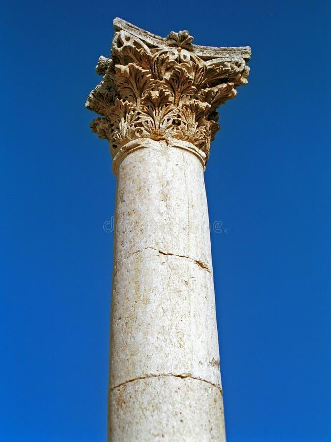 Римские руины Gerasa, Jerash, Джордана стоковое фото rf