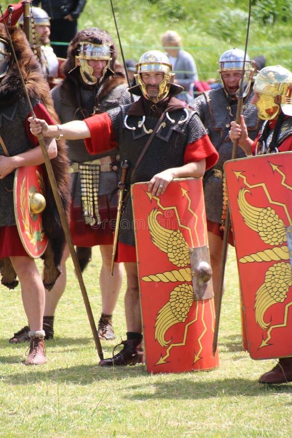 Римские солдаты стоковое изображение rf