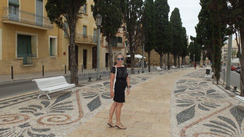 Римский бульвар стоковое изображение
