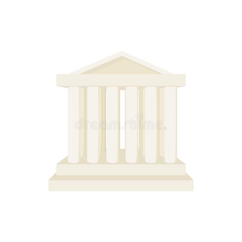 Римский значок виска, стиль шаржа иллюстрация штока