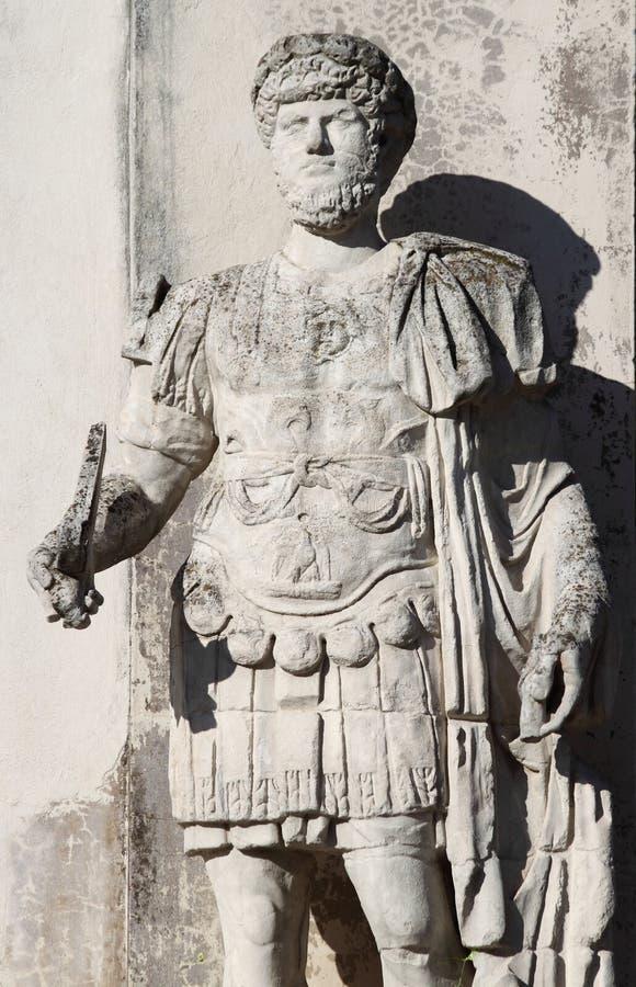 Римский император Hadrian стоковое изображение rf