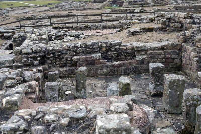 Римский дом ванны солдат стоковые изображения rf