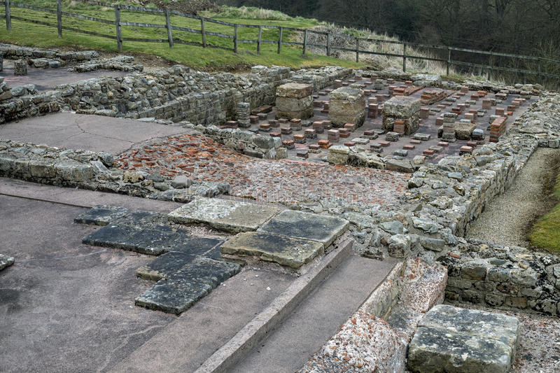 Римский дом ванны солдат стоковые фото