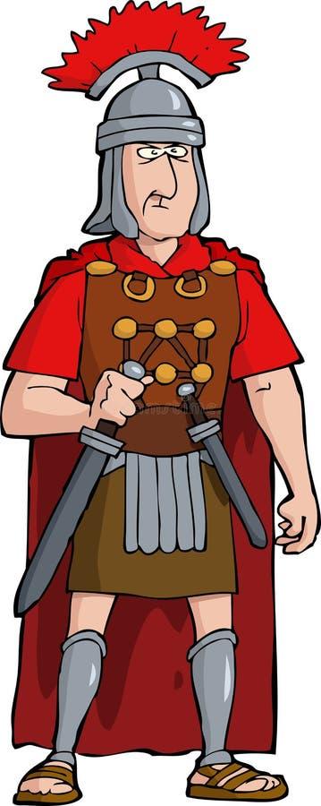 Римский офицер бесплатная иллюстрация