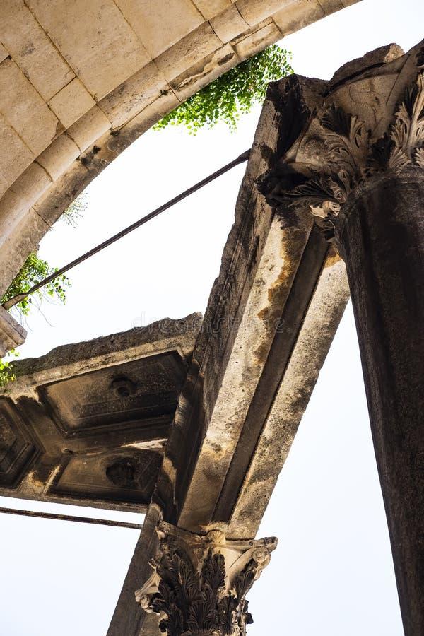 Римский столбец стоковое изображение