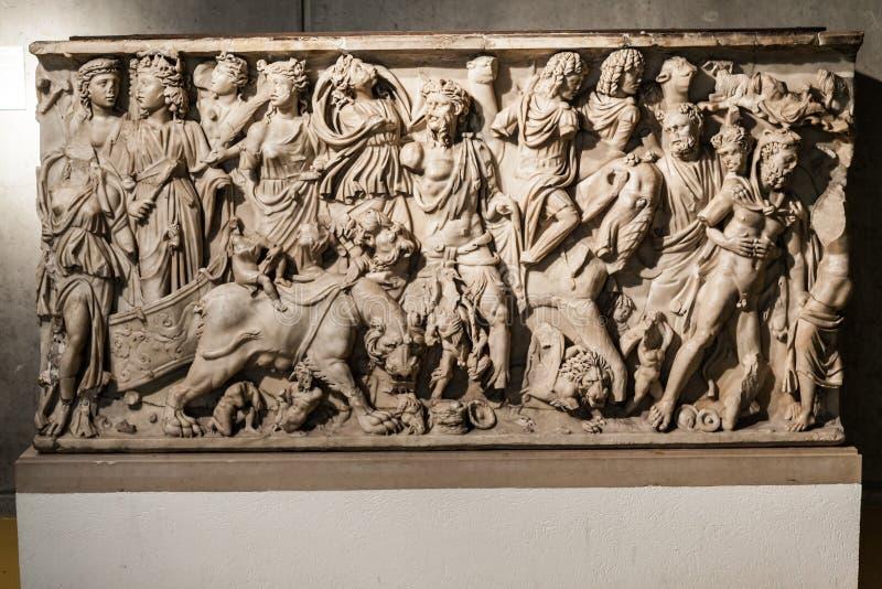 Римский тягчайший Лион Франция стоковые фотографии rf