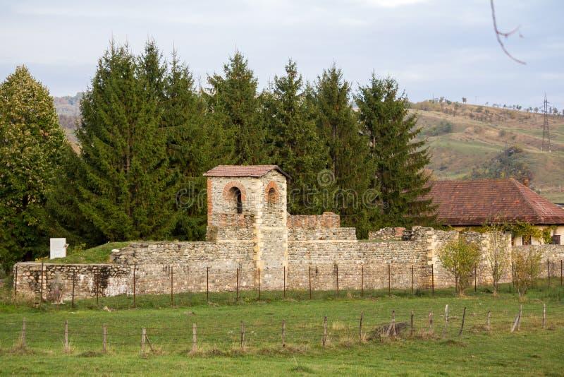 Римское castrum стоковое фото rf