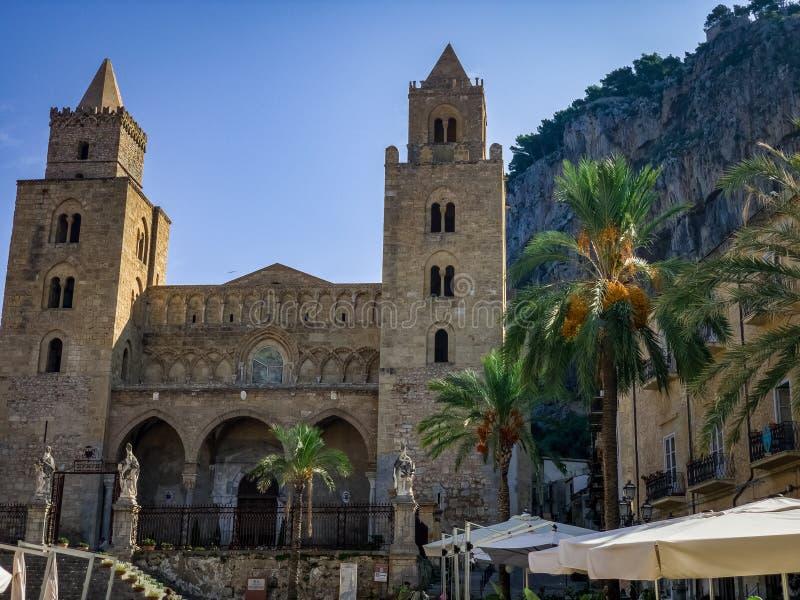 Римско-католическая епархия ¹ Cefalà стоковые фото