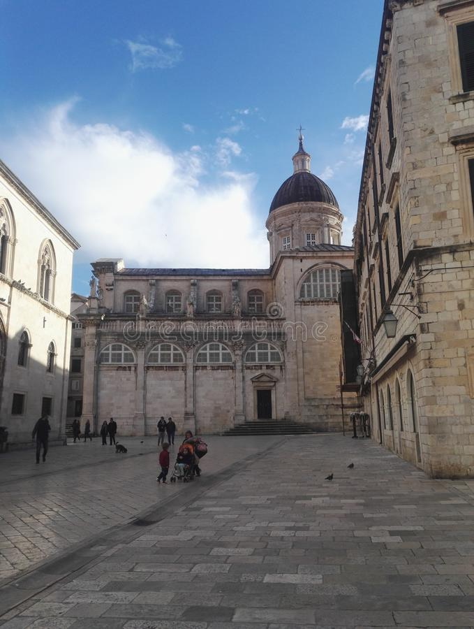 Римско-католическая епархия Дубровника, Хорватии стоковые изображения rf