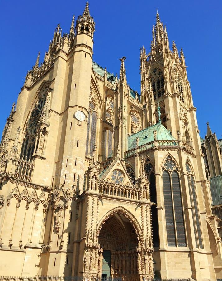 Римско-католическая епархия Меца, Франции стоковое изображение
