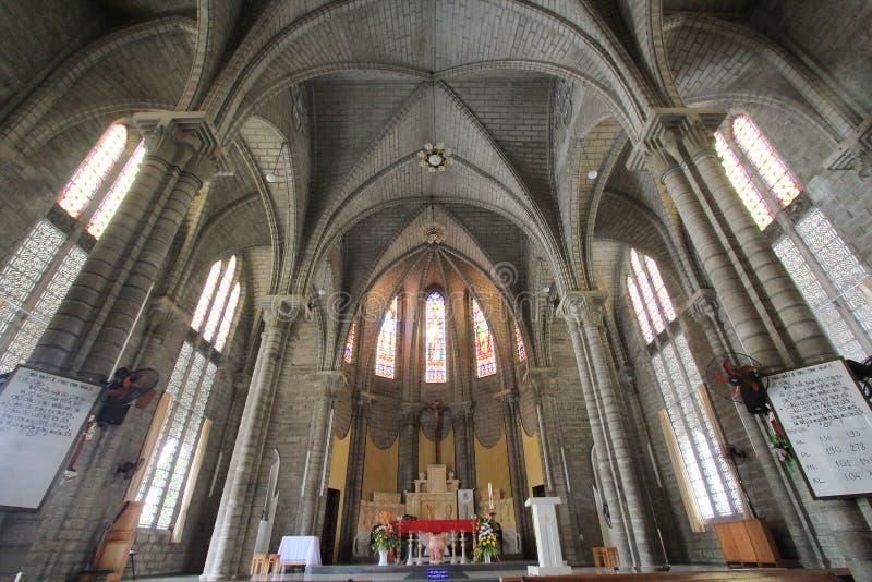 Римско-католическая епархия в Nha Trang стоковое фото