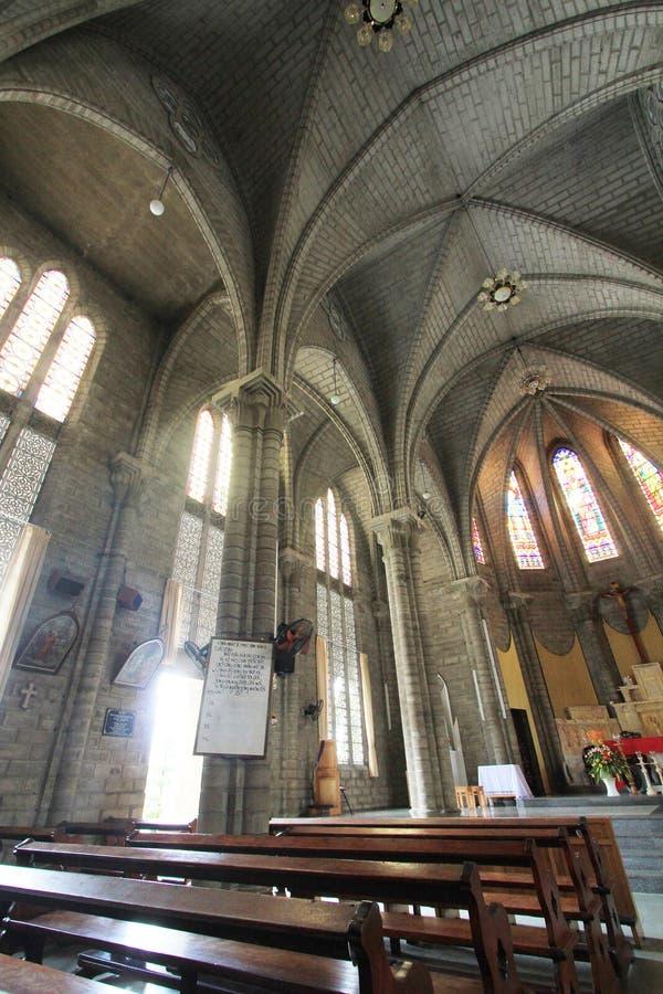 Римско-католическая епархия в Nha Trang стоковые изображения
