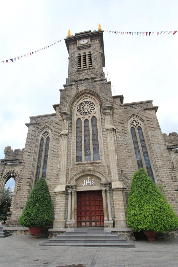 Римско-католическая епархия Nha Trang стоковое фото rf