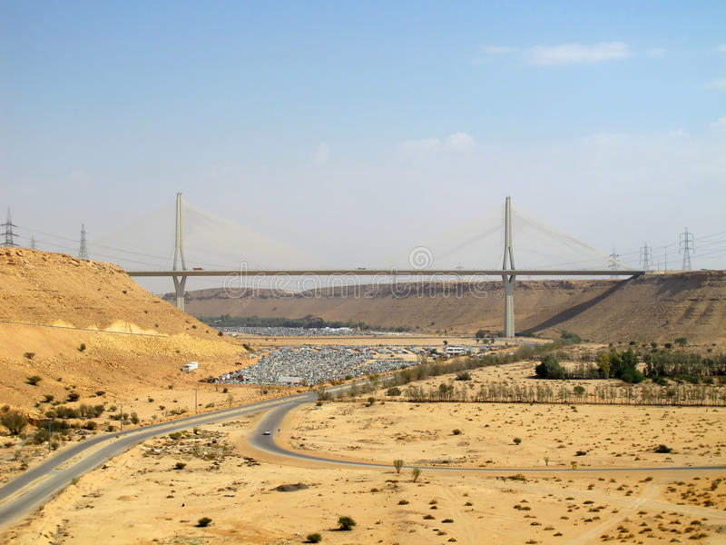 ринв дороги пустыни стоковая фотография rf