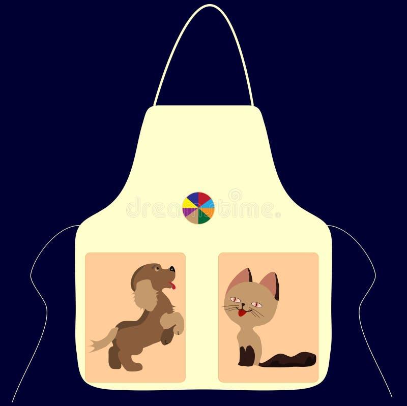 Рисберма с изображением шарика собаки кота стоковые фото