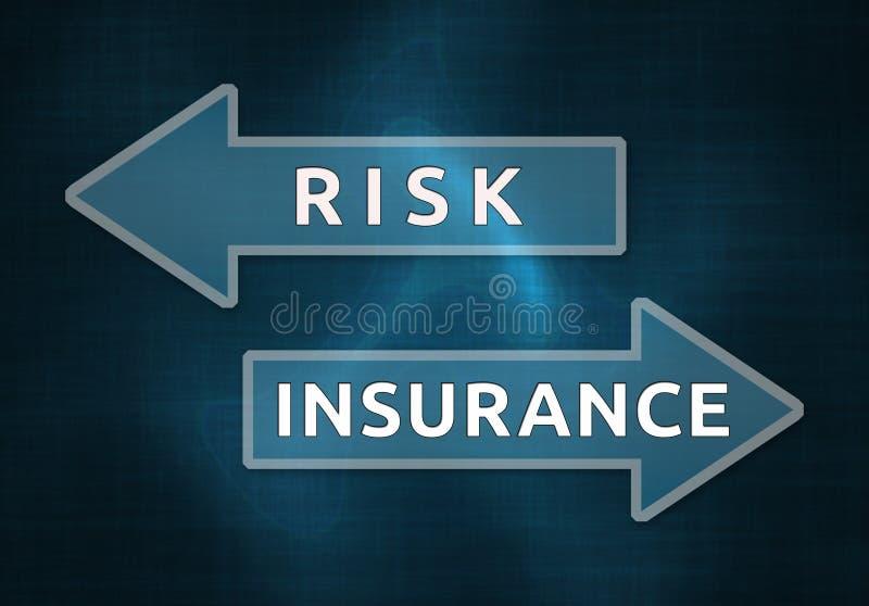 Риск и страхование иллюстрация штока