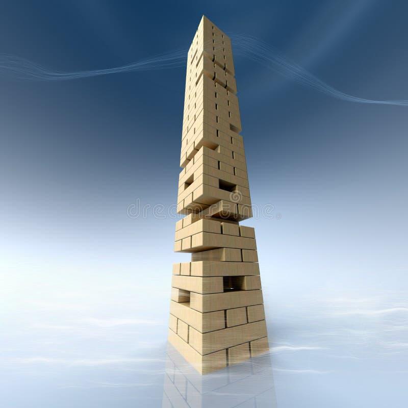 Риск конструкции инженерства иллюстрация штока