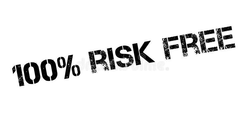 риск 100 процентов освобождает избитую фразу иллюстрация вектора