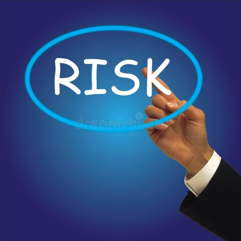 Риск иллюстрация вектора