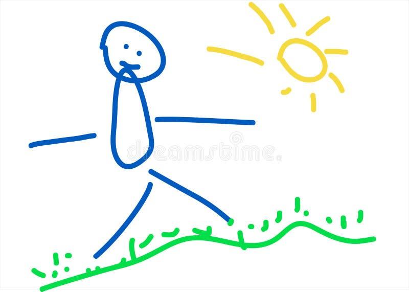Рисовать малышей Стоковая Фотография