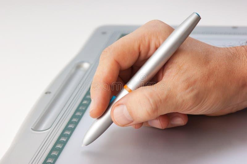 рисует людей s руки стоковое фото rf