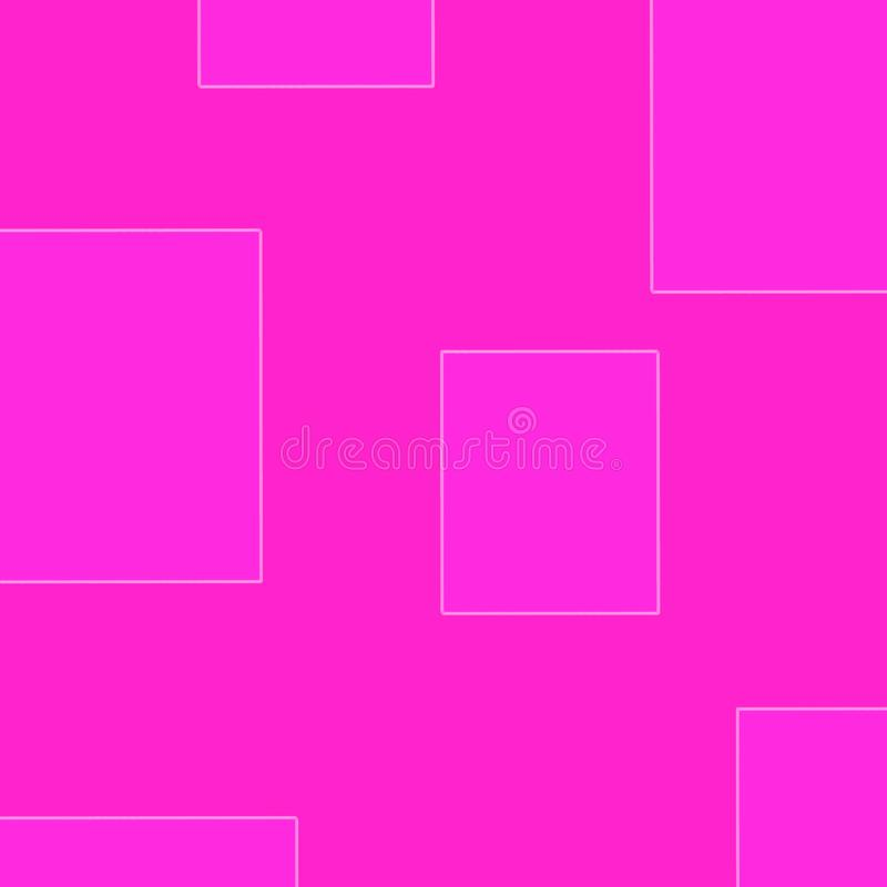 Рисуя предпосылка предпосылки пинка розовая иллюстрация вектора