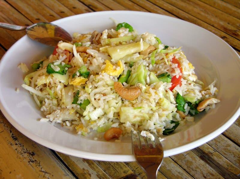 рис ананаса анакардии стоковое изображение