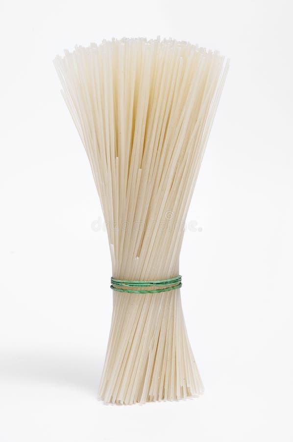 рис лапшей стоковое изображение