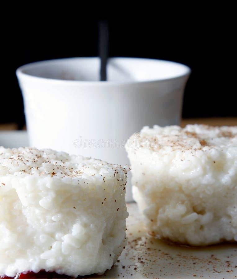 рис пудинга циннамона стоковые фото