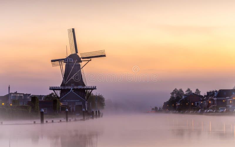 Рис Солнця в Voorburg стоковое изображение