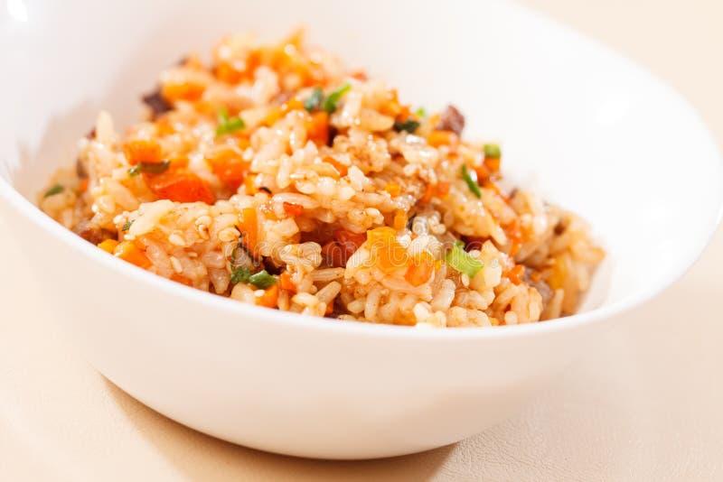 Рис с овощами стоковая фотография rf
