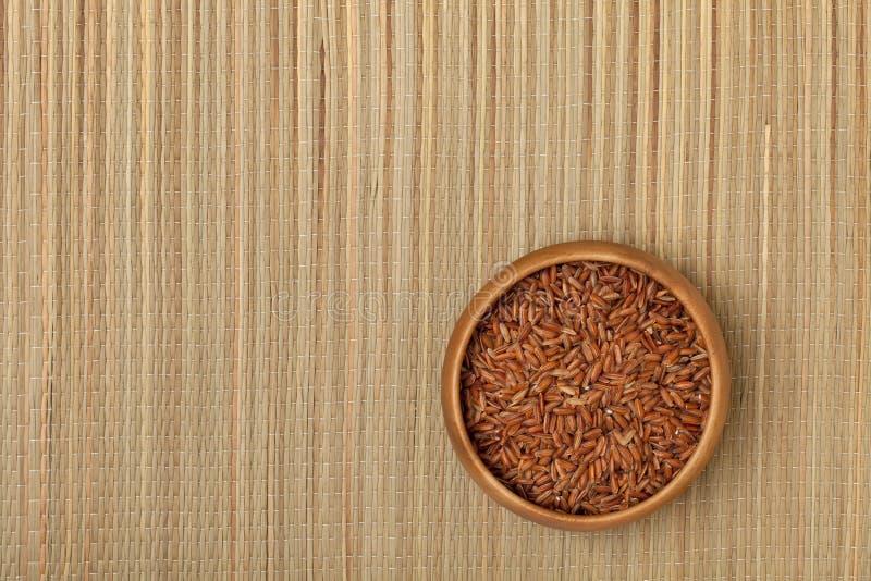 рис шара коричневый стоковое изображение rf