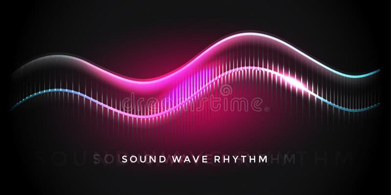 Ритм звуковой войны стоковое изображение