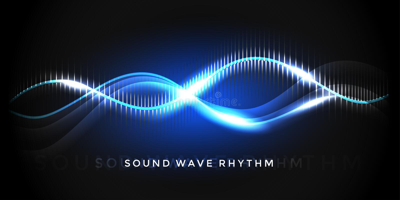 Ритм звуковой войны бесплатная иллюстрация