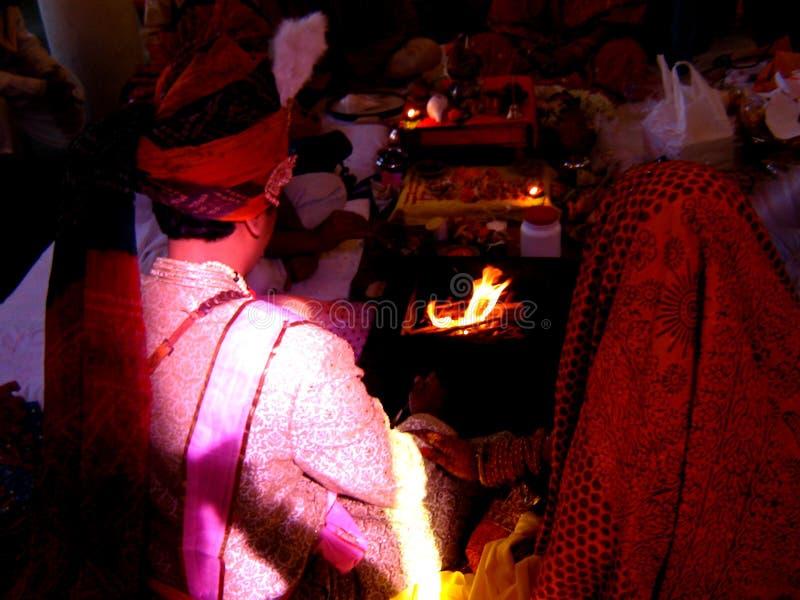 ритуальное венчание стоковое изображение