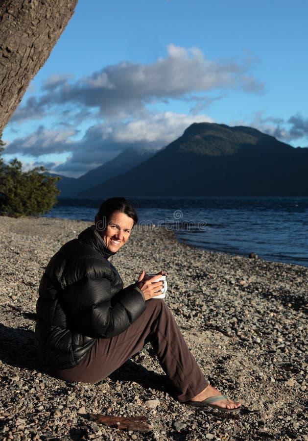 ритуал кофе Аргентины стоковые фотографии rf