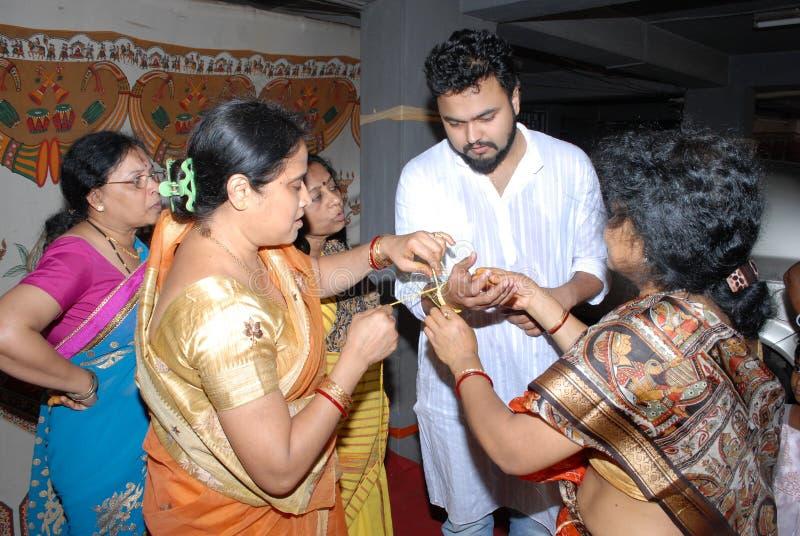 Ритуалы свадьбы стоковая фотография rf