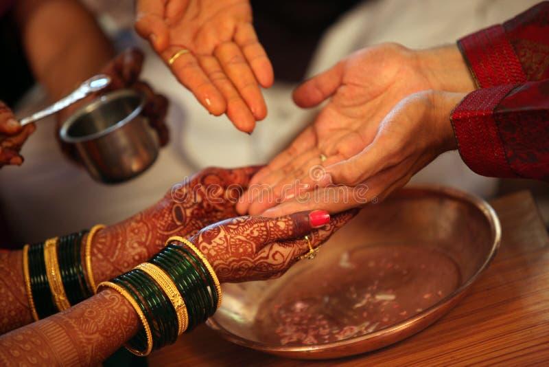 Ритуалы свадьбы стоковая фотография