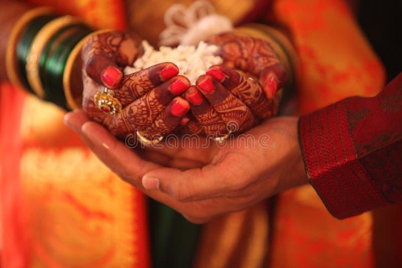 Ритуалы свадьбы стоковое фото