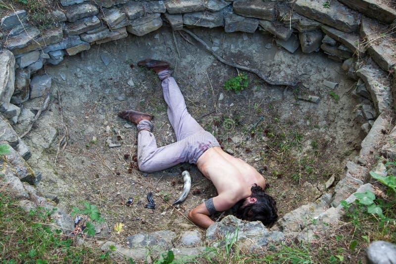 Ритуальное убийство стоковая фотография rf