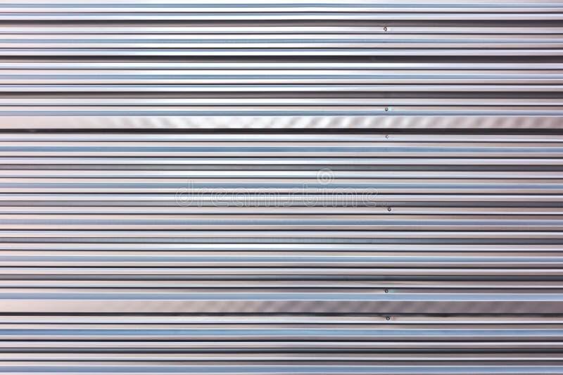 Рифлёная поверхность текстуры металла Промышленная стальная предпосылка стоковая фотография rf