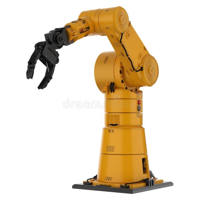 Робототехническая рука руки или робота иллюстрация штока